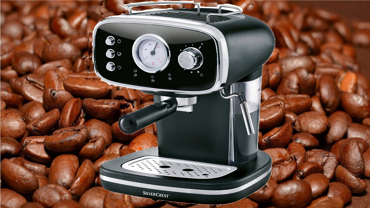 Silvercrest Espresso Machine Sems 1100 A1 Unboxing Testing