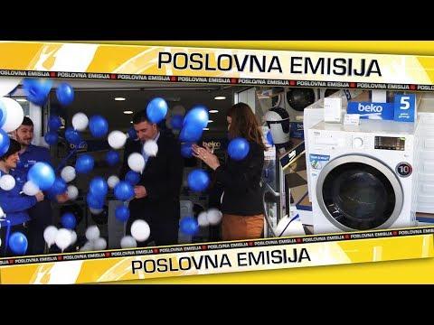 Otvoren novi Beko shop u Orašju - Poslovna emisija - 16.03.2018.