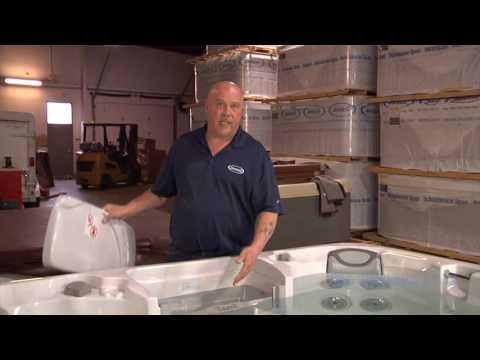 Fixing a hot tub flow error w/Bob @ All Seasons Spas in Ohio
