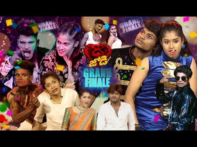 Dhee Jodi Grand Finale   11th September 2019     Full Episode   ETV Telugu