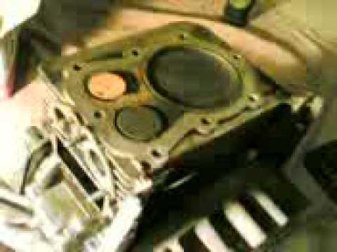 Motore ACME smontato