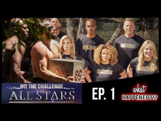 THE CHALLENGE: ALL STARS Episode 1 Recap: THE LEGENDS ARE BACK!