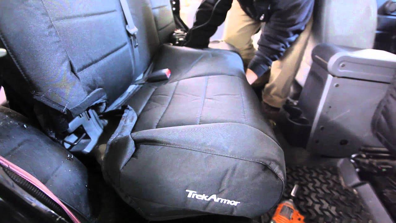 Trek Armor Seat Cover Install  Jkadventurecom Youtube