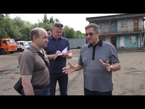 Префект проверил ход строительства ГБУ Жилищник Бутырского района