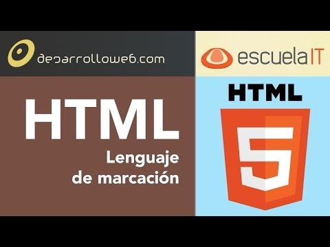 HTML Lenguaje De Marcación