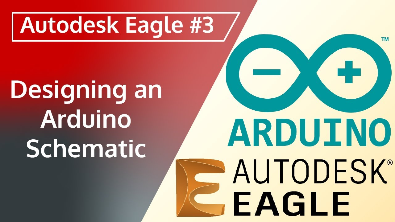 Autodesk Eagle 3 Designing An Arduino Schematic Youtube