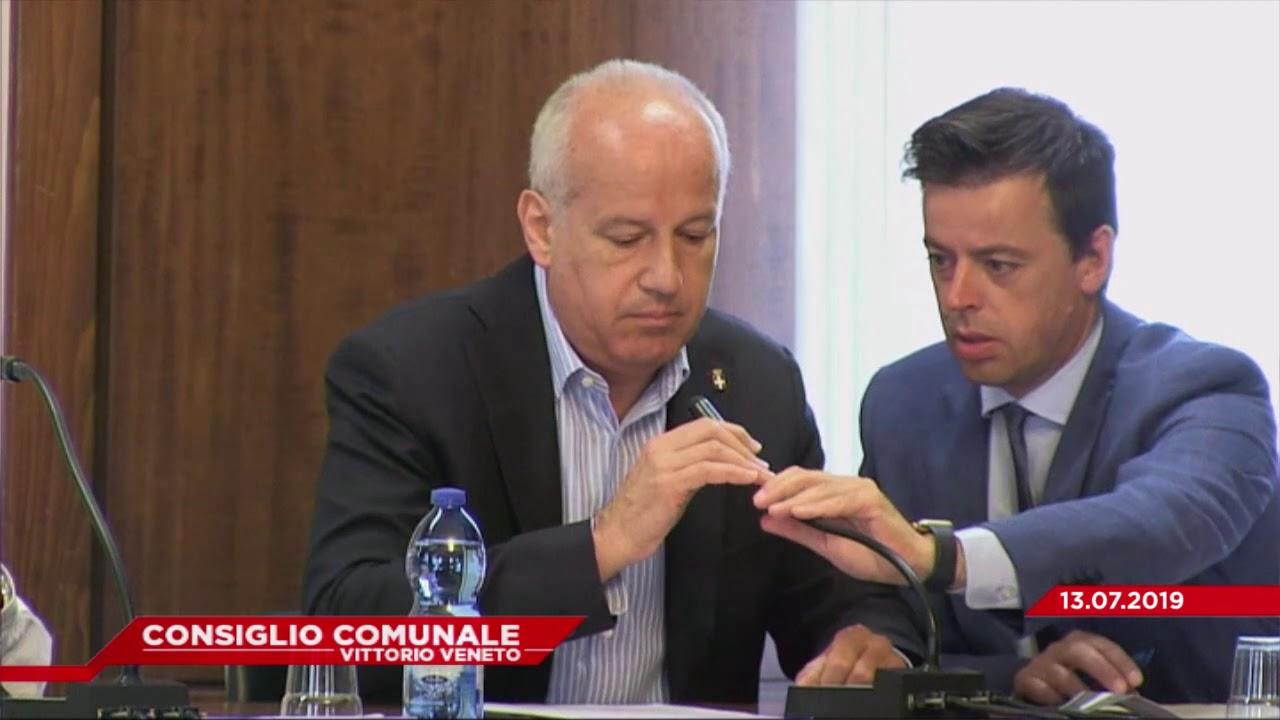 CONSIGLIO COMUNALE VITTORIO VENETO - Seduta del 13.07.2019