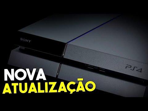 NOVA ATUALIZAÇÃO NO SOFTWARE DO PS4 / REDUÇÃO EM GAMES