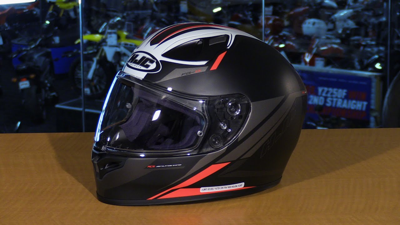 Hjc Fg 17 >> Hjc Fg 17 Full Face Motorcycle Helmet Review