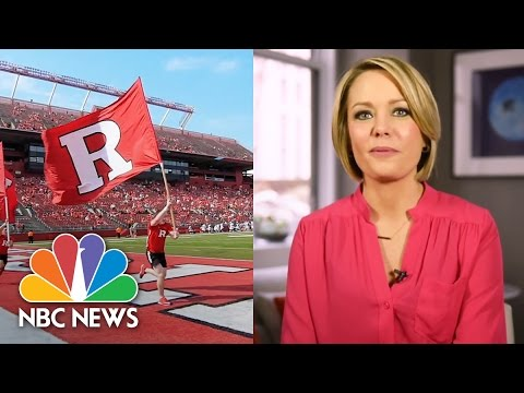 Dylan Dreyer: Why I Chose Rutgers University | NBC News