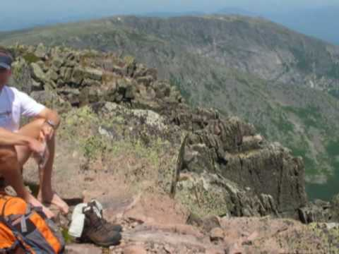 Hiking Mt. Katahdin - Hunt Trail