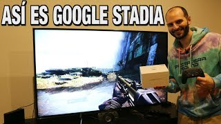 ¡¡¡MI EXPERIENCIA SINCERA CON GOOGLE STADIA!!! - Sasel - founder edition - nube - streaming