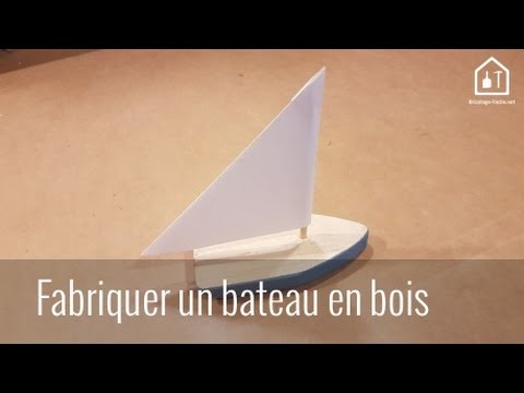 tuto diy comment fabriquer un bateau en bois bricolage facile youtube. Black Bedroom Furniture Sets. Home Design Ideas