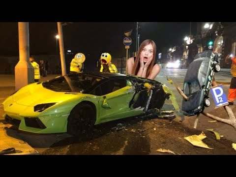 Expensive Luxury Car Funny Driving Fails Compilation Dash Cam Russian Asian Drivers #5
