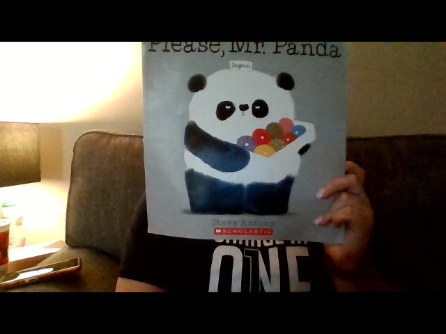 Book of the Day: Please, Mr Panda