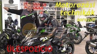 Motorozási technikák, 2. rész: A helyes üléspozíció - Onroad.hu
