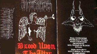 "Blasphemy(can) ""Blood Upon the Altar"" (full demo)"
