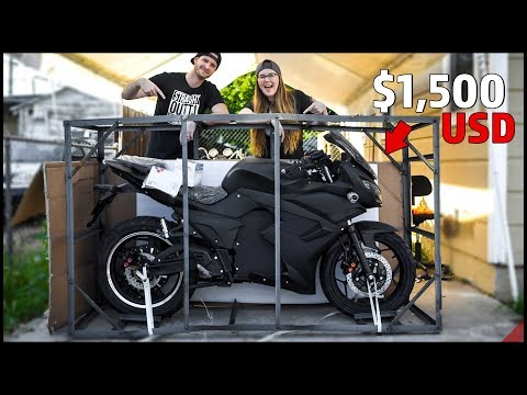 I bought an ELECTRIC SPORTBIKE from CHINA ($1,500 NEW)