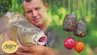 Рыбалка на карпа в 40 Как поймать карпа в жару Карпфишинг на красивом озере