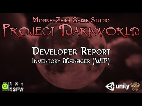 Project Darkworld - Inventory Manager (Version 1.0 WIP)