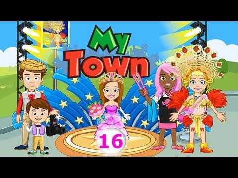 Мой Город - My town - #16 Конкурс Красоты - Beauty Contest. Детское видео, игра как мультик.