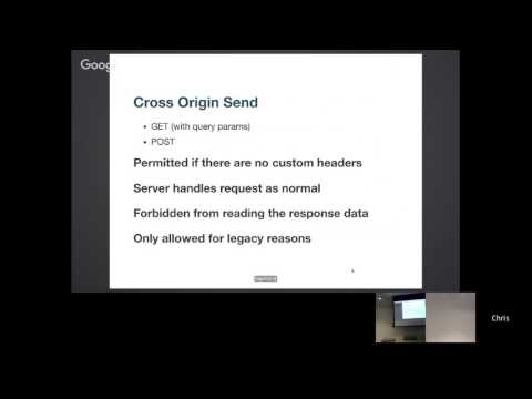 23    Cross Origin Resource Sharing  28CORS 29  Why do we need it and how do we do it