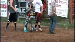 JBR Rodeo Junior Bull Riding 8-21-2010 Ft Gibson OK