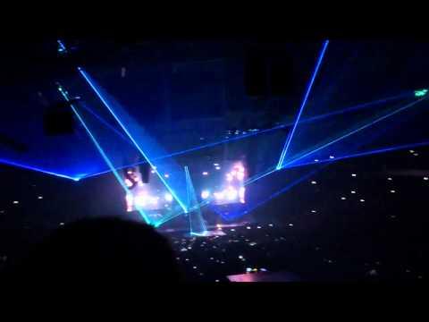 The Throne - Flashing Lights - JAY-Z & Kanye West @ Sportpaleis, Antwerpen
