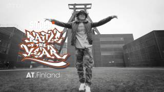 Bgirl AT (Finland) in Essen for Battle Of The Year | By Stance