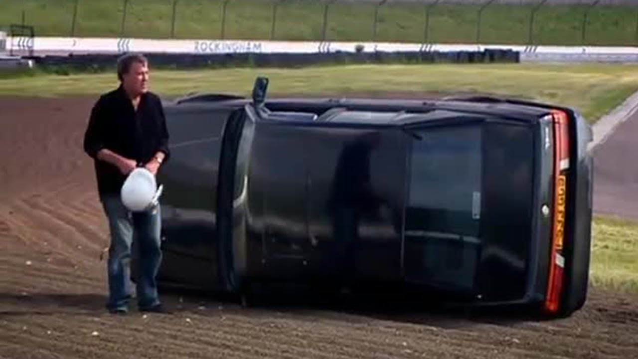 Clarkson CRASHES out of the Race (HQ) | Top Gear
