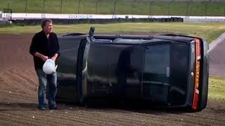 Clarkson Crashes Out of the Race (HQ) - Top Gear - BBC