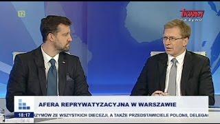 Rozmowy niedokończone: Afera reprywatyzacyjna w Warszawie cz.I
