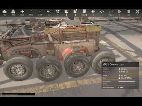 Crossout 101 Episode 25 - How to armor Growl