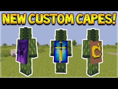 capes for minecraft pe download