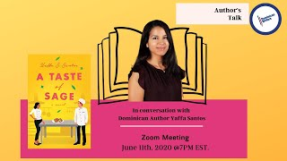 Author's Talk: In Conversation with Yaffa Santos