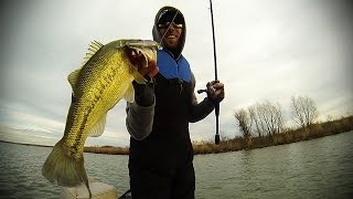 First Cast RC STX Largemouth Bass // Wolf Creek // GoPro