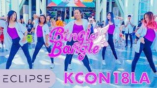 [KPOP IN PUBLIC @ KCON LA] AOA - Bingle Bangle (빙글뱅글) Dance Cover [ECLIPSE]