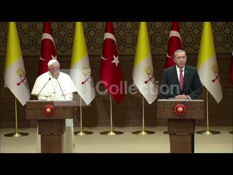 ERDOGAN-POPE VISIT: 'ISLAM ISN'T TERROR'