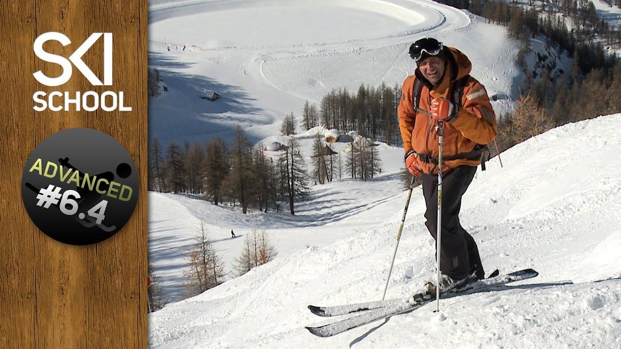How To Ski Bumps / Moguls - Advanced Ski Lesson #6.4