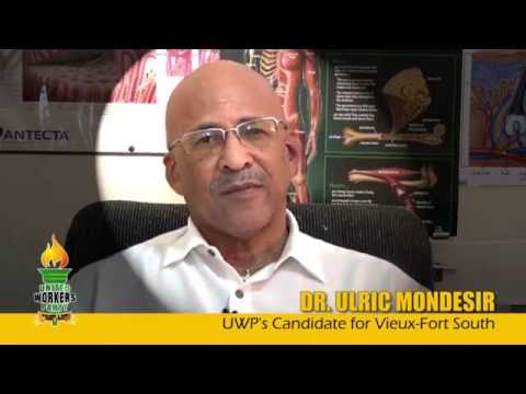 Dr. Ulric Mondesir: I think I've been places where politicians never dreamt of going to see people