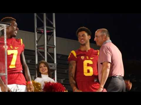 trojancandy.com: USC Football Coach Tee Martin Introduced his 2016 Wide Receivers