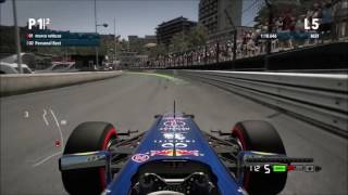 F1 2010-2015 MONACO red bull