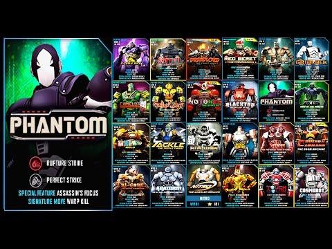 Real Steel WRB PHANTOM Series of fights NEW ROBOT (Живая Сталь)