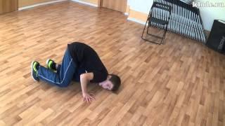 Видео урок брейкданса - Роберт (КлоДэ)