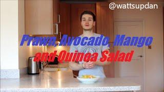 Healthy Recipes: Lunch 'prawn, Avocado, Mango And Quinoa Salad'