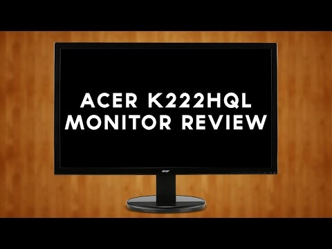 Acer K222HQL Monitor: Review