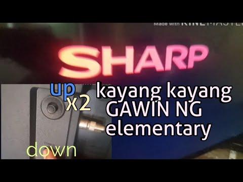 RESET NG SHARP LED TV