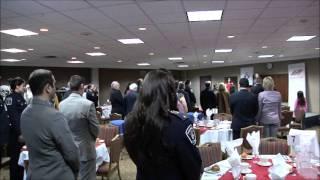 Ottawa Public Heros Award Ceremony 2013 - National Anthem by Anastasia Filippova