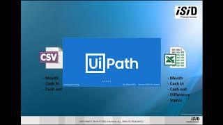 Tutorial Automasi Csv to Excel menggunakan UiPath StudioX