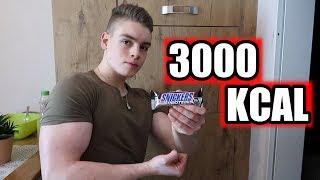 3000 Kalorien leicht essen - Ernährung für Jugendliche im Aufbau!